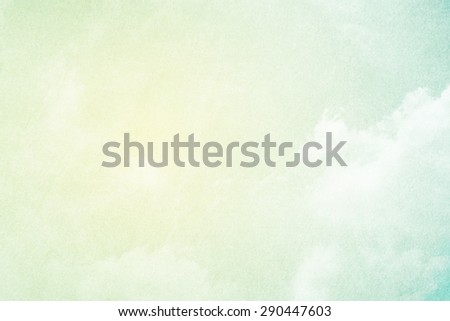 fantastic soft cloud and sky abstract background with grunge  texture - stock photo