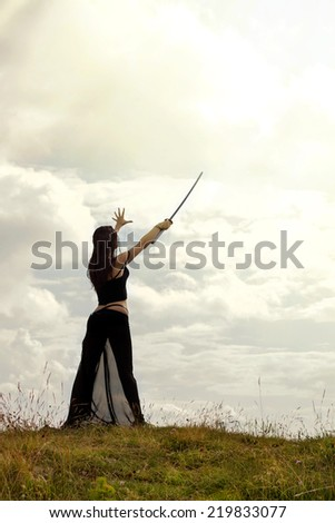 Fantasy and fairytale concept - stock photo