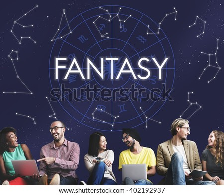 Fantasy Fairy Dream Miracle Surreal Gorgeous Concept - stock photo
