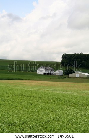 Farmland Hills - 9 - stock photo
