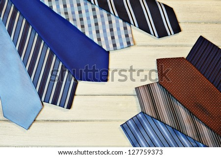 fashion accessories for man - stock photo