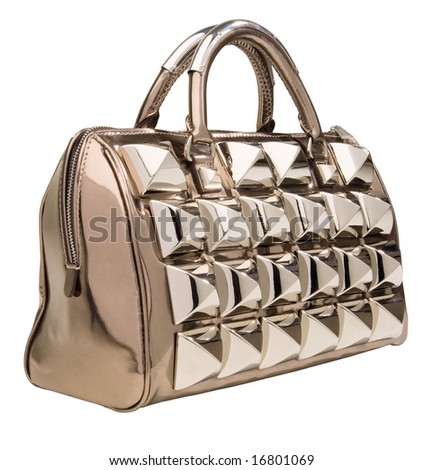 Fashion bag - stock photo