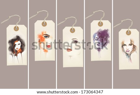 Fashion design elements  - stock photo