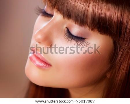 Fashion Makeup. Perfect Skin - stock photo