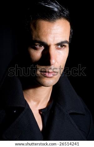 fashion man - stock photo