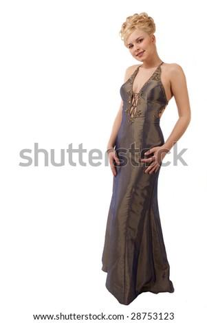 Fashion Model - stock photo