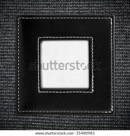 fashion picture frame - stock photo