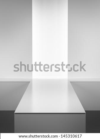 Fashion podium. - stock photo