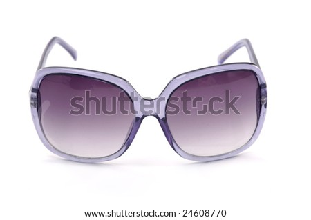 Fashion sunglass - stock photo