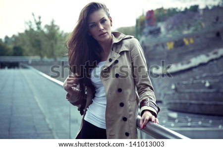 fashion woman - stock photo