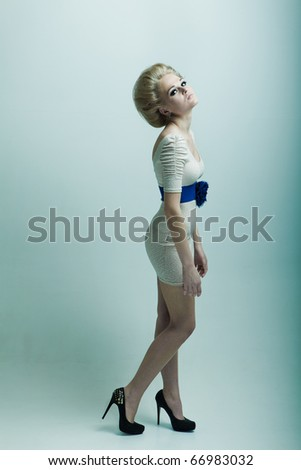 Fashion woman misses - stock photo