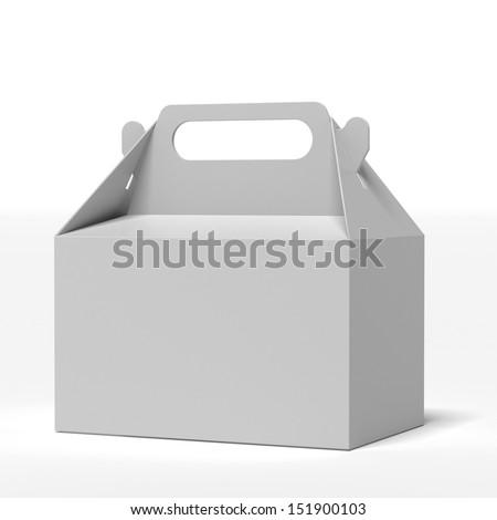 Fast Food Box - stock photo