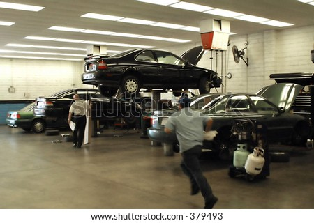 Fast Service - stock photo