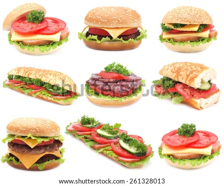 Fastfood - stock photo