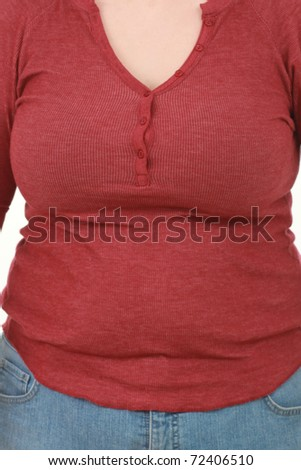 Fat body - stock photo