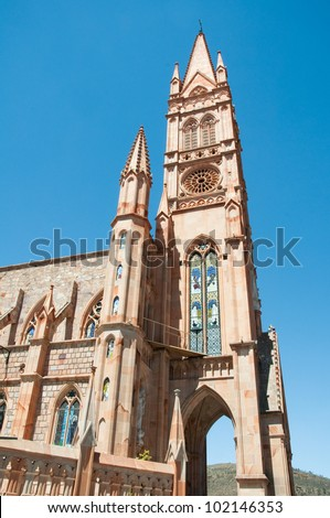 Fatima Church, Zacatecas (Mexico) - stock photo