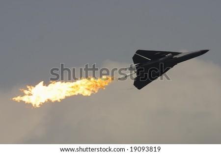 FB111 Fighter Jet - stock photo