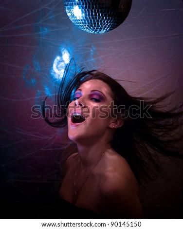 Female Glamor Night - stock photo
