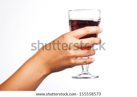 Hand Holding Glass Stock Photos Images Pictures