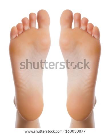 Female leg - stock photo