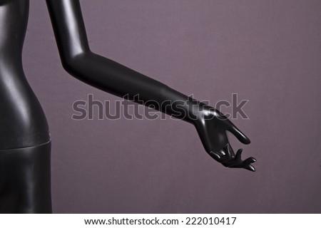 Female mannequin hand  - stock photo