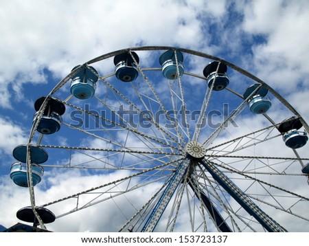 ferris wheel - stock photo