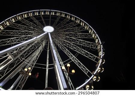 Ferris Wheel, London - stock photo
