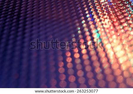 Festive background with defocused lights, Bokeh , Lighten, Line of light - stock photo