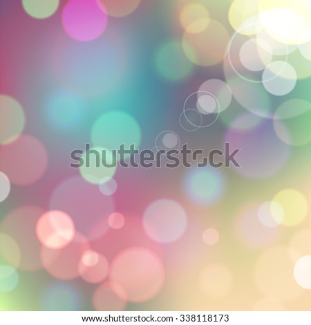 Festive colorful background of blue and pink colors with bokeh defocused lights. - stock photo
