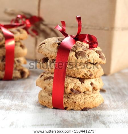 few cookies  - stock photo