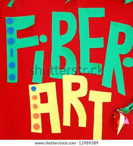 Fiber Art-Craft - stock photo