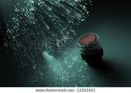 Fiber optical - stock photo