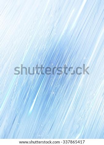 Fiber optics background /Optical fiber glowing blue padded - stock photo