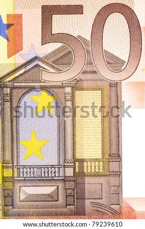 Fifty euro - stock photo