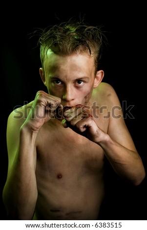 fight - stock photo