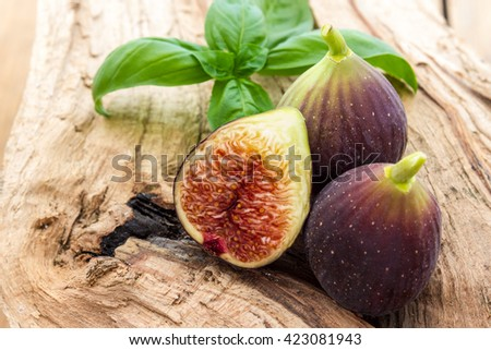 Figs - stock photo
