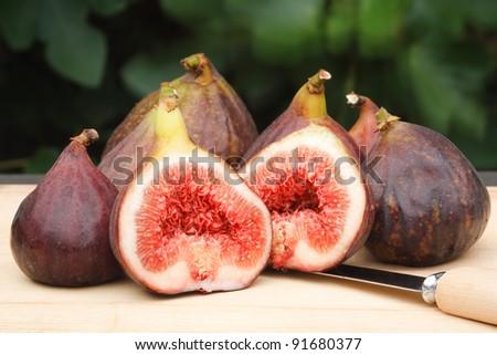 Figs still life - stock photo
