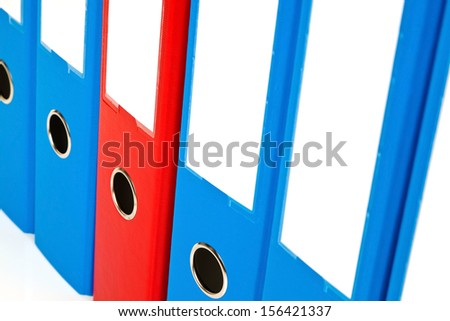 file folder with documents and documents. retention of contracts. - stock photo