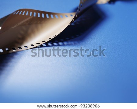 Film background image with copy space. - stock photo