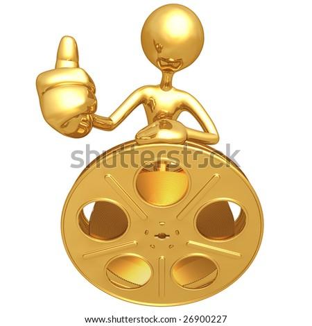 Film Critic - stock photo