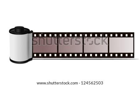 Film roll - stock photo