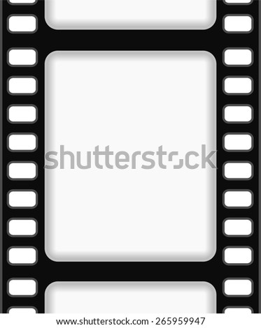 film strip frame background abstract design - stock photo