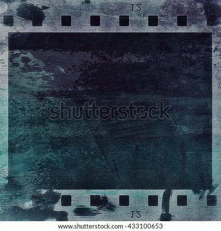 film strip grunge background, texture - stock photo