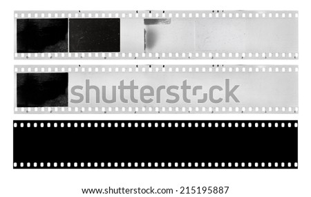 film strips - stock photo