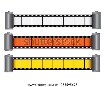 Films - stock photo