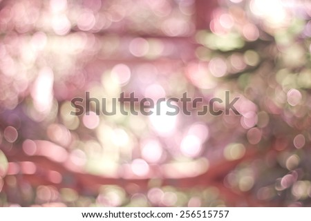 Filtered pink gradient blurred natural background. - stock photo