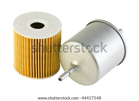 filters for car - stock photo