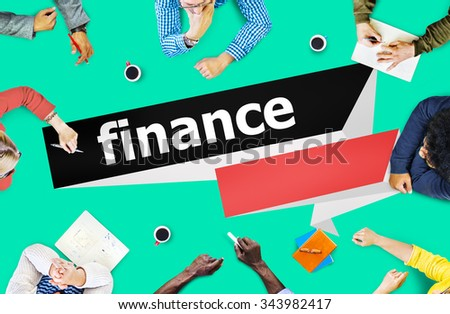 Finance Currency Investment Economy Money Concept - stock photo