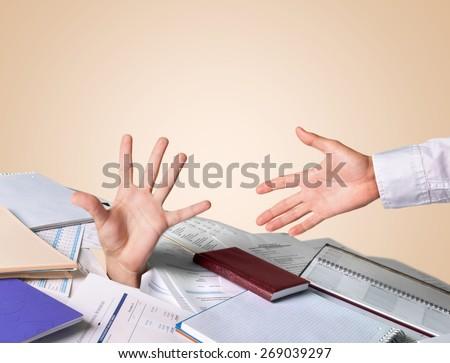 Finance, Debt, Bill. - stock photo