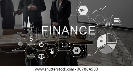 Finance Money Debt Credit Balance Concept - stock photo